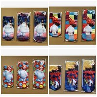 wholesale kids socks - 2015 Hot Sale New kids Big Hero socks baymax kids socks Baymax kids socks Cartoon kids socks Big Hero Children socks LJJD1934 pairs