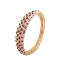 Wholesale Cloisonne bracelet Fashion national wind restoring ancient ways is purple bracelet exquisite box jewelry jewelry gifts