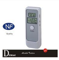 Wholesale 2015 New Breathalyzer Digital Alcohol Breath Tester Dual Lcd Display Analyzer Breathalyzer Portable Professional Car Detector