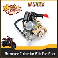 fuel filter for motorcycle - 50CC Moto Motorcycle Carburetor with Fuel Filter fit for SUNL ROKETA JCL BAJA Tank TaoTao BMS