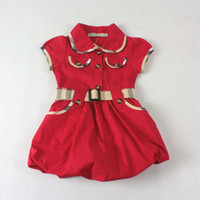 Best Replica Designer Children's Clothes Baby dress summer fashion
