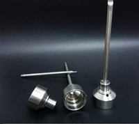 Wholesale Titanium Nail Card Cap fits to mm GR2 Pure Titanium nail for Water Pipe Glass Bong Smoking