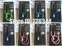 Wholesale Household Health Monitors Blood Pressure Single Head EMT Doctor Nurse Professional Clinical Medical Stethoscope stethoscope littmann