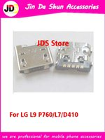 Wholesale Micro USB Charging Port For LG optimus L9 P760 P769 D605 L7 E400 P705 P765 P769 P700 Charger Connector Dock Port