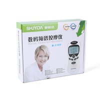 Wholesale Blue screen digital meridian physiotherapy massage instrument multifunction digital Meridian instrument health meridians a1003