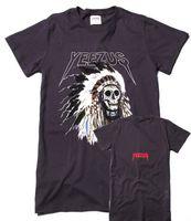 best men shirt brands - Best Version brand shirt skull yeezus t shirts usa Clothing cotton t shirts fashionable short sleeve Oversize Kanye