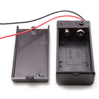 Wholesale 1Pcs v Battery Holder with ON OFF Switch volt Box Pack Power Toggle Black