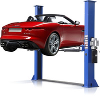 car lift - Popular garage equipment two sides manual lock release two hydraulic cylinder post car lift jack