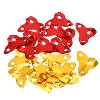 cord stoppers - 10Pcs mm Triangle Outdoor Tent Stopper Camping Aluminum Alloy Cord Guy Line Runners Rope Tensioners Fastener Rope Tightener Y0714