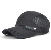 mesh snapback hats - 2015 Snapback Mesh hat cap men Quick Dry outdoor summer sun hat casquette chapeu casual sports Letter mesh men Baseball caps