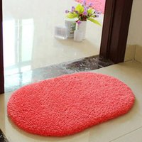 Wholesale Bath Mat Bathroom Plush Velvet Slip Mats Rug Non slip Bath Mats CM CM XW1