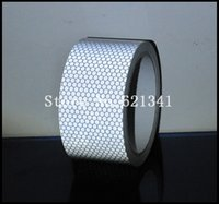 road safety material - Silver Road Safety Caution Warning Tape High Brightness Reflective Material Roll cm m RT038