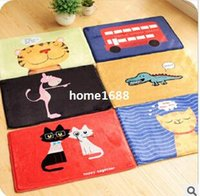 Wholesale Cartoon Multifunction Floor Mat Non slip Bathroom Carpet Kitchen Living Room Rugs Antiskid Door Mat x39cm