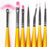 Wholesale Women Nail paint pen Drawing Brush Dotting Pen Detailing Pen Brushes Bundle Tool Kit