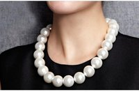 Wholesale 12mm natural shell beads mother of pearl necklace inches perfect circle silver light flawless her mother