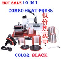 Wholesale 2015 upgraded quality combo in mug printing machine x38 inches diy printer tshirt advanced heat press sublimation etc
