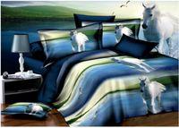 bedspread designs - Horse design bird print comforter bedding sets queen size duvet cover bedspreads bed in a bag sheets fashion quilt linen animal