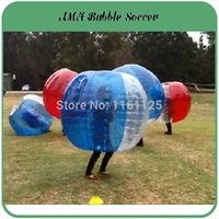 Cheap Wholesale-2015 New Arrive Top Quality 1.5M PVC 0.8mm Human hamster ball Bubble Football, Bubble Soccer, Out door Sports Suit Zorb Ball