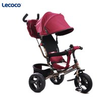 Wholesale Lecoco card years old children s tricycle bicycle bicycle baby baby baby baby cart
