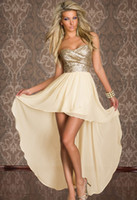 asymmetrical skirt chiffon - When the women s clothing Ying irregular double Sequin skirt wrapped chest sexy fashion gauze dress dresses for womens