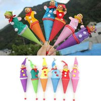 Wholesale 1Pcs Bell Hide Seek Baby Kids Children Smiley Face Clown Play Activity Tool Gift