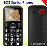 Wholesale Large key SOS function Old man mobile phone Four frequency dual card