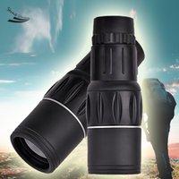 Wholesale x Dual Focus Zoom Telescope Green Optic Lens Armoring Travel Monocular Telescope high quality