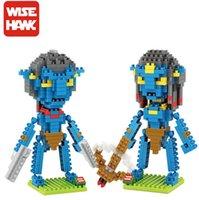 avatar cartoon series - Wisehawk cm box Avatar Series Cartoon Figure blocks Toys for Kids Diamond Bricks Building Blocks