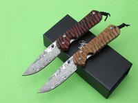 damascus knife - Chris Reeve Tactical Folding Knives OEM Handmade Damascus Pattern HRC Camping Hunting Survival Pocket Knife Military Hand Tools