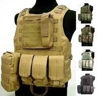 armor carrier vest - Fall Waterproof USMC Ciras Tactical Vest colete Airsoft Tactical Military Molle Soft Body Armor Plates Carrier Vest Military Uniform