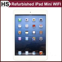 Wholesale Original Refurbished iPad Mini quot iOS A5 Apple Tablet GB WIFI Warranty Included Retail Box White Free Post Shipping