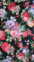 Wholesale autumn fashion colorfully printed milk silk lycra jersey fabric soft and tender touch XERY CL01