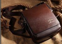 australia messenger bag - Free Shoping New Genuine Leather Men Messenger Bags Australia Kangaroo Logo Zipper Men Shoulder Bags Briefcase