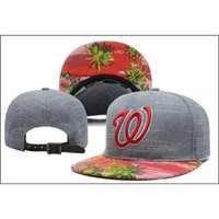 Cheap Washington Nationals Snapback Baseball Caps Adjustable Caps Snapback Caps Outdoor Sports Hats Cheap Snapback Men and Women Snapback