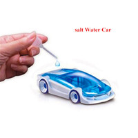 Wholesale Salt Water Fuel Car Activity Toys DIY Novelty Games Creating Educational Toy With Factory Price