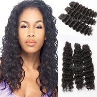 Cheap Indian Hair Unprocessed Indian Hair Best Deep Wave Under $30 Deep Wave Weft