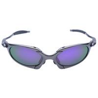 al por mayor x gafas de sol deportivas-Al por mayor-original Romeo hombres polarizaron las gafas de sol de ciclo Aolly Julieta X metal practicar deporte Gafas Oculos ciclismo gafas CP002-1