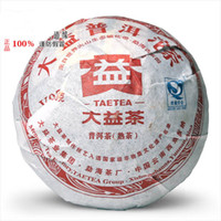 Wholesale Authentic Dayi V93 puer tea yr g mini puer cooked Shu tea small tuocha of organic food