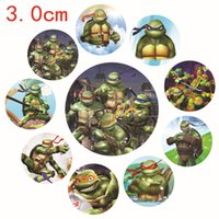 Wholesale 2015 Ninja turtle pin Badge Cartoon Despicable Me Fashion Tinplate Badge cm Costume Cosplay Toy Baby Safety Gear Safety Accessorie