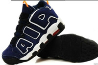 Wholesale high top Air More Uptempo Men Training Shoes Pippen Retro Basketball Shoes Hot Sale Sneaker size40 no box