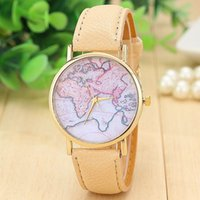 aw water - New Fashion World Map Watch Geneva Watches Women Dress Watches Quartz Wristwatch Watches AW SB A2