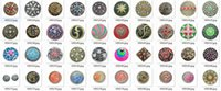 Wholesale 80pcs mixed deisgns for your choice zinc alloy crystal Noosa mm mm snap ginger snap noosa buttons Chunks Clasps Snap Jewellery Noosa