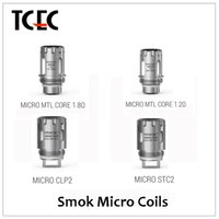 Wholesale Authentic Smok micro coils Micro MTL CLP2 STC2 coils for smok micro one kit DHL free