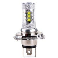 Wholesale Super White H4 HB2 CREE W LED Projector Ultra Bright Headlamp Headlight High low Beam High Power Car Led Fog Light