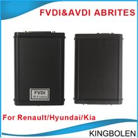 Wholesale 2015 FVDI ABRITES Commander For Renault V6 AVDI USB Dongle Get Hyundai Kia Tag Key Tool Software Free DHL