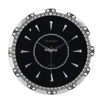 Cheap 100% real picture, Switzerland Jeb force minimalist living room mute creative wall clock rings jewelry luxury home decoration clock hanging