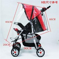 Wholesale HO House Keeping Universal Baby Cart Rain Wind Cover Trend Plastic Baby Stroller Cover