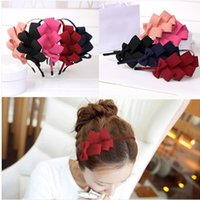 Wholesale Fashion brand new style Korea hair accessory Multilayer bowknot headdress More hair bows