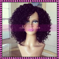 malaysian virgin hair lace wig - Middle Part Glueless Lace Front Wigs Virgin Brazilian Short Silk Top Full Lace Human Hair Wigs For Black Women With Baby Hair