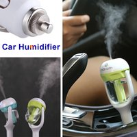 Wholesale Mini Nanum Car Humidifier Air Purifier Aromatherapy Essential Oil Aroma Diffuser Mist Maker Steam Fogger For Cars Bus Automobile